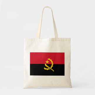 Flag of Angola - Bandeira de Angola Tote Bag