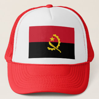 Flag of Angola - Bandeira de Angola Trucker Hat