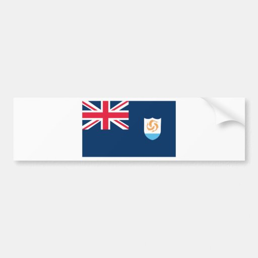 Flag of Anguilla Bumper Stickers