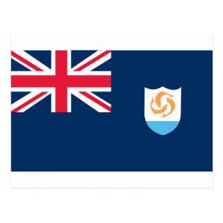 Flag of Anguilla Postcard