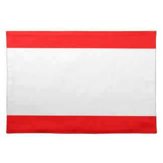 Flag of Antwerp Place Mat