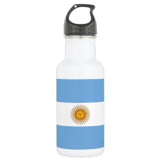 Flag of Argentina 532 Ml Water Bottle
