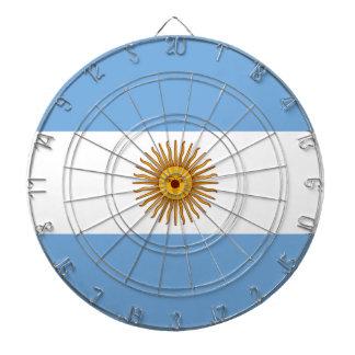 Flag of Argentina - Bandera de Argentina Dartboard