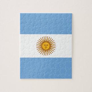 Flag of Argentina - Bandera de Argentina Jigsaw Puzzle