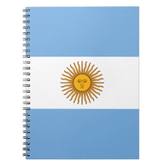 Flag of Argentina - Bandera de Argentina Notebooks