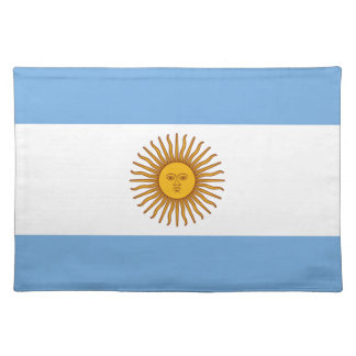 Flag of Argentina - Bandera de Argentina Placemat
