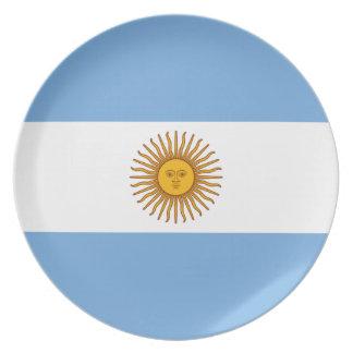 Flag of Argentina - Bandera de Argentina Plate