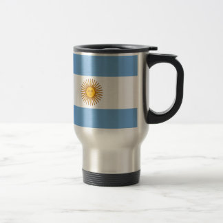 Flag of Argentina - Bandera de Argentina Travel Mug