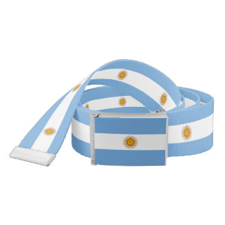 Flag of Argentina Belt