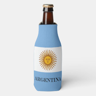Flag of Argentina Bottle Cooler