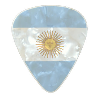 Flag of Argentina Guitar Picks