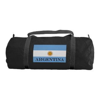 Flag of Argentina Gym Bag