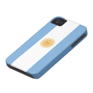 Flag of Argentina iPhone 4 Cases
