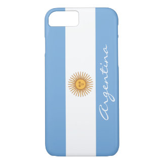 Flag of Argentina iPhone 7 Case