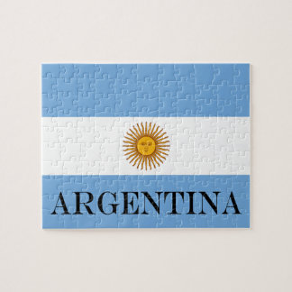 Flag of Argentina Jigsaw Puzzle