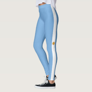 Flag of Argentina Leggings