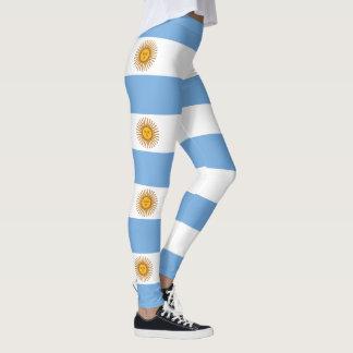 Flag of Argentina Leggings