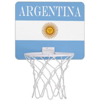 Flag of Argentina Mini Basketball Hoop