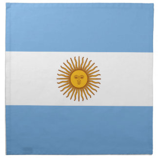 Flag of Argentina Napkin