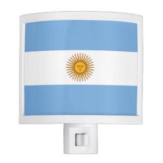 Flag of Argentina Night Light