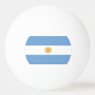 Flag of Argentina Ping Pong Ball