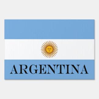 Flag of Argentina Sign