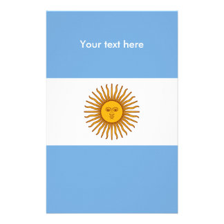 Flag of Argentina Stationery