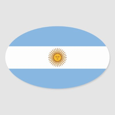 Argentina flag heart sticker zazzle ca