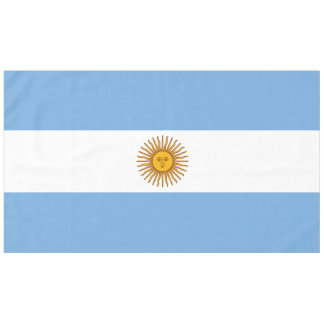 Flag of Argentina Tablecloth