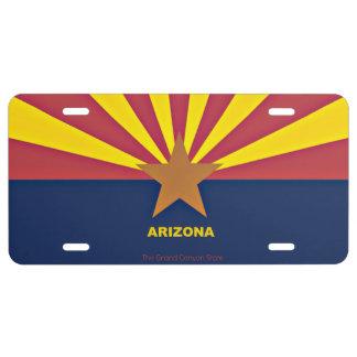 Flag of Arizona License Plate