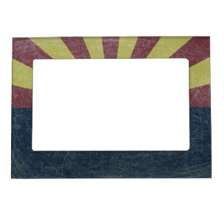 Flag of Arizona Magnetic Picture Frame