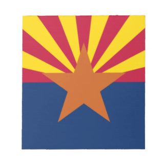 Flag Of Arizona Notepad