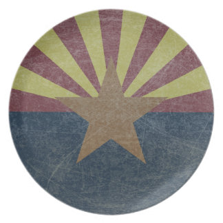 Flag of Arizona Plate