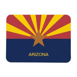 Flag of Arizona Rectangular Photo Magnet