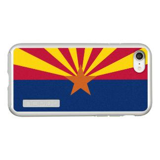 Flag of Arizona Silver iPhone Case