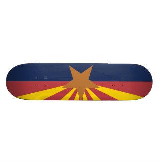 Flag of Arizona Skate Board Deck