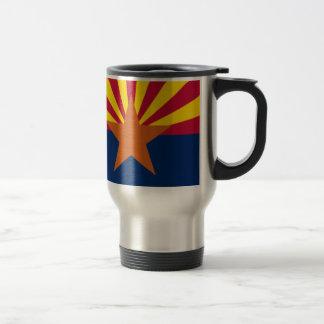 Flag Of Arizona Travel Mug