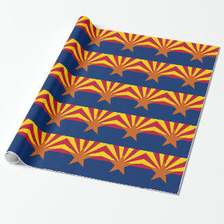 Flag Of Arizona Wrapping Paper