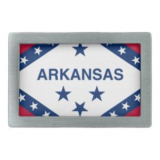 Flag Of Arkansas Belt Buckle