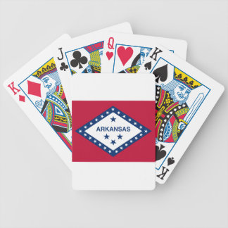 Flag Of Arkansas Bicycle Playing Cards