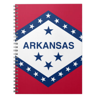Flag Of Arkansas Notebooks
