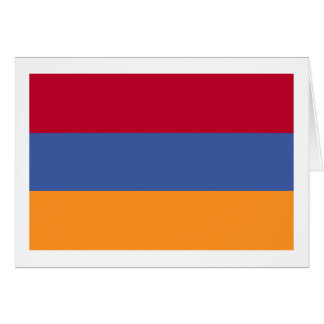 Flag of Armenia Card