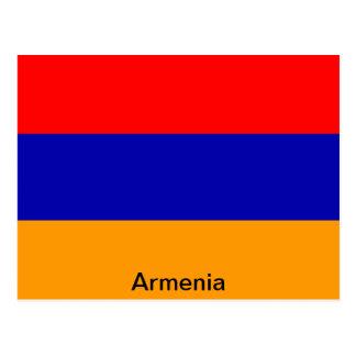 Flag of Armenia Postcard