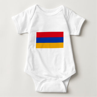 Flag of Armenia - Yeraguyn Baby Bodysuit