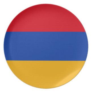 Flag of Armenia - Yeraguyn Dinner Plates