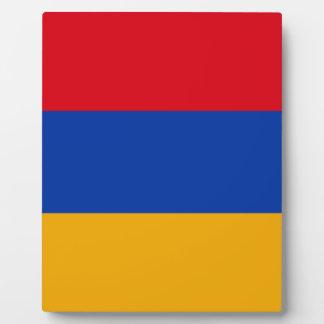 Flag of Armenia - Yeraguyn Plaque