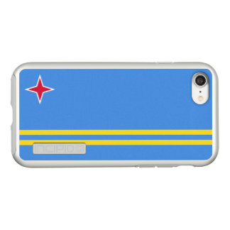 Flag of Aruba Silver iPhone Case