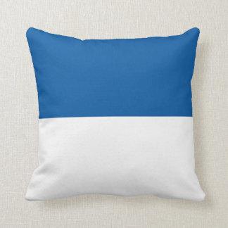 Flag of Assen Throw Pillow