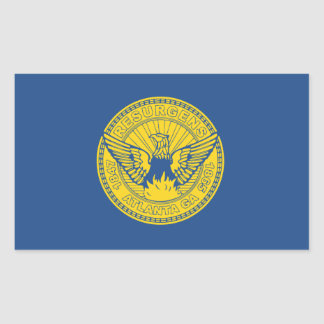 Flag of Atlanta, Georgia Sticker