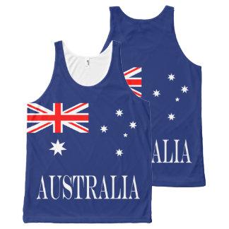 Flag of Australia All-Over-Print Tank Top
